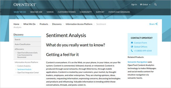download opentext sentiment analysis