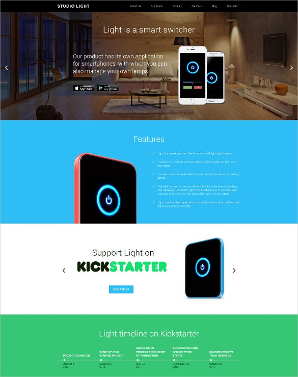 crowd funding wordpress portfolio theme