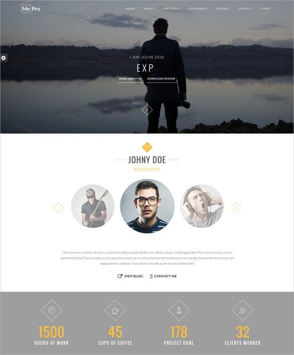 55+ Portfolio WordPress Themes & Templates | Free & Premium Templates