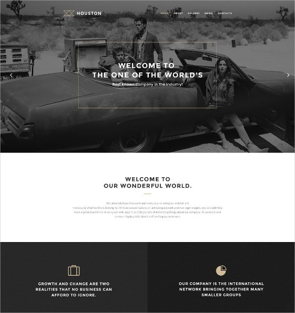 business photography agency wordpress theme