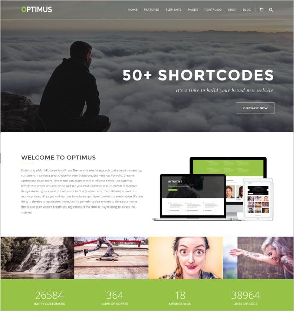 ultimate photography wordpress theme