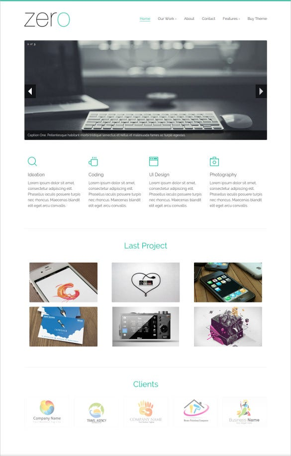 31 html5 website themes templates free premium for Free website templates html5