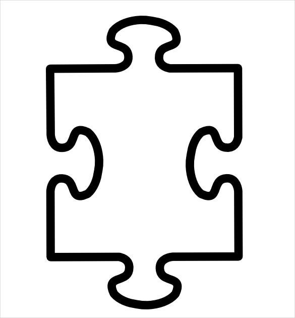 picture regarding Printable Blank Puzzle identified as Puzzle Piece Template 19+ Absolutely free PSD, PNG, PDF Formats
