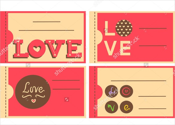easy to print love couopn templates