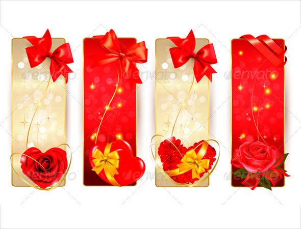 set of beautiful love coupons