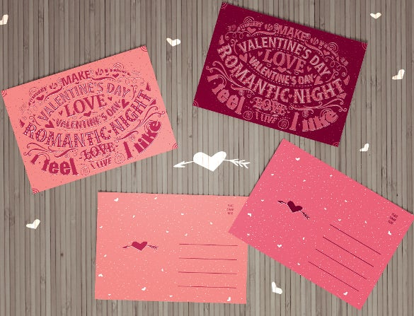collection of colrful love coupon templates download