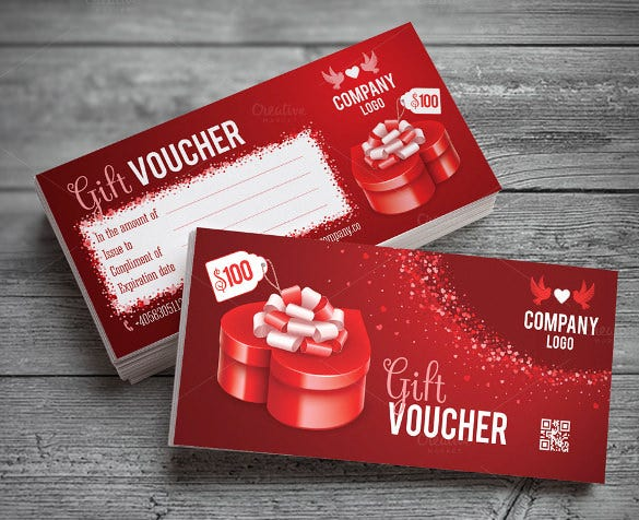 professional love coupon template download