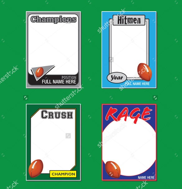 Sports Card Template  BesikEightyCo