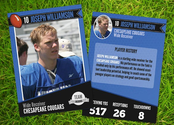 football trading card premium dwnload