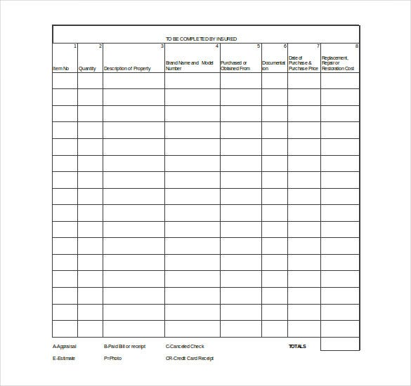 12  content inventory templates  u2013 free  sample  example