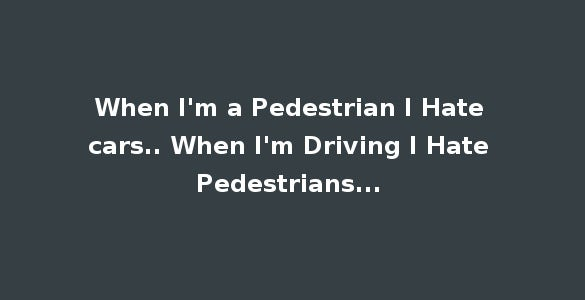 whatsapp status for pedestrians