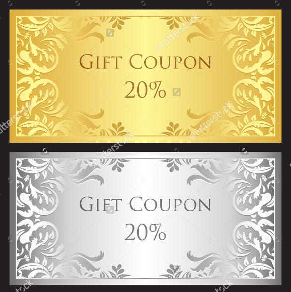 luxury birthday coupon download
