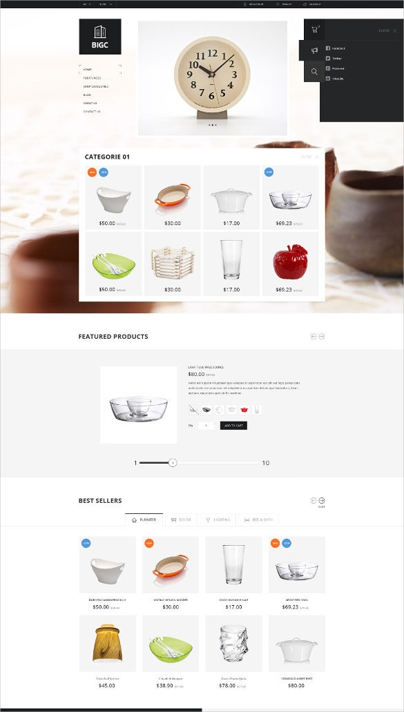 responsive shop woocommerce theme