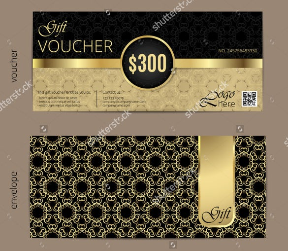luxury golden and black birthday coupons
