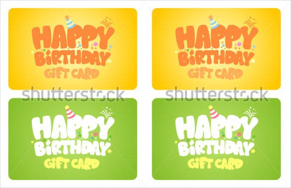 simple birthday gift coupon template