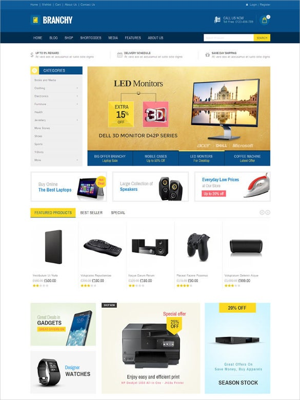 ultimated woocommerce responsive theme