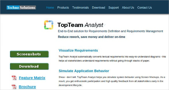 download top team business analysis tool
