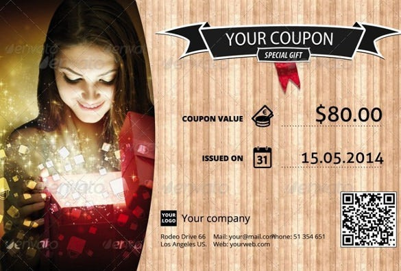 print ready gift coupon template download