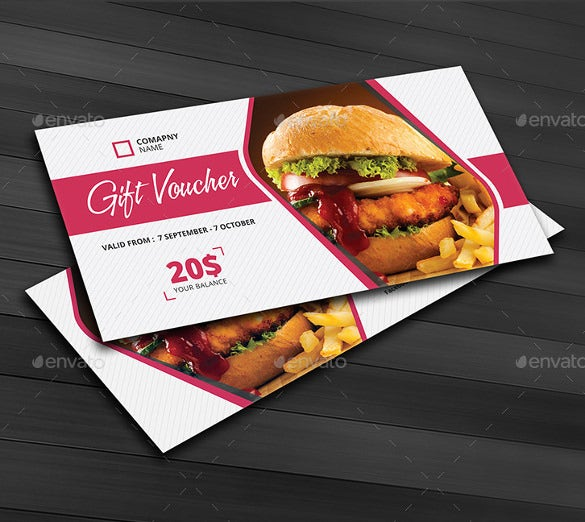 promotional gift coupon template download