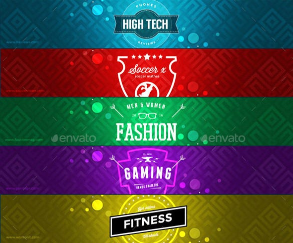 Youtube Banner Art Template 20 Free Psd Ai Vector Eps