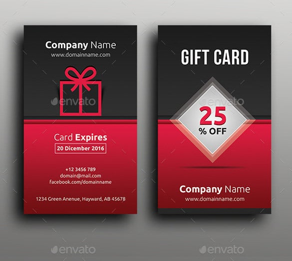 multipurpose gift coupon template download