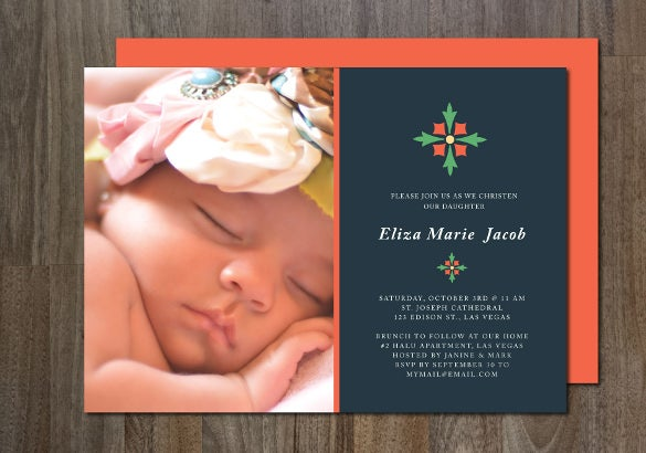 baptism invitation template download