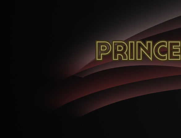 prince simple youtube banner template