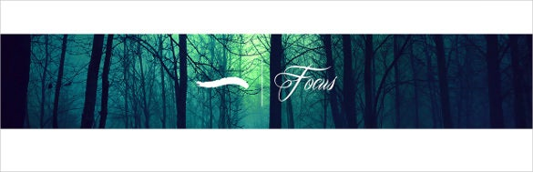 nature youtube banner template
