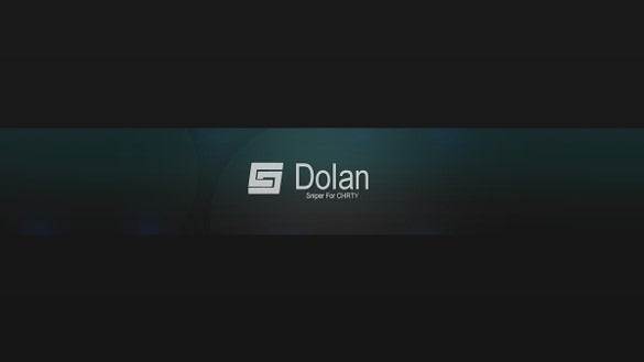 dolan simple youtube banner template