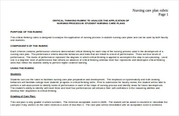 nursing action plan template.html