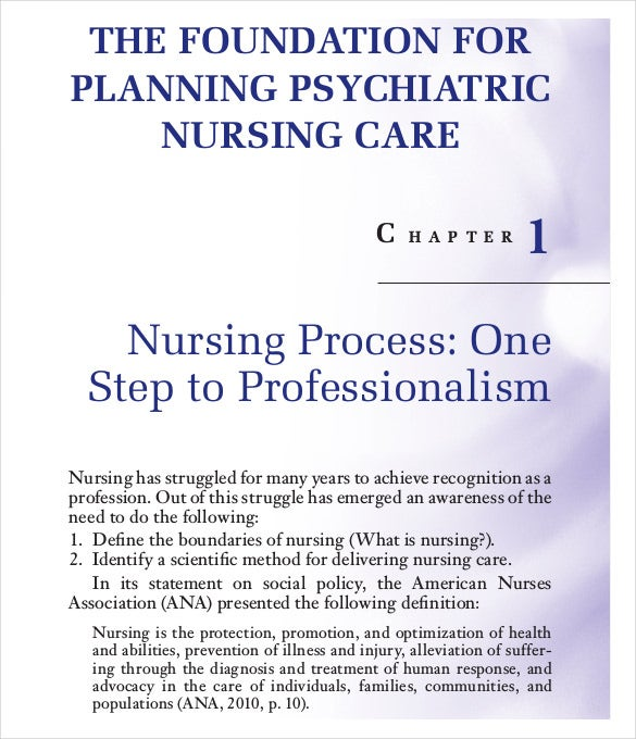 Nursing Care Plan Templates  16 Free Word, Excel, PDF Documents