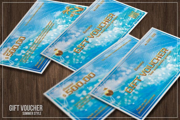 attractive coupon design template download