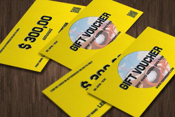 colorful bavkground coupon design template