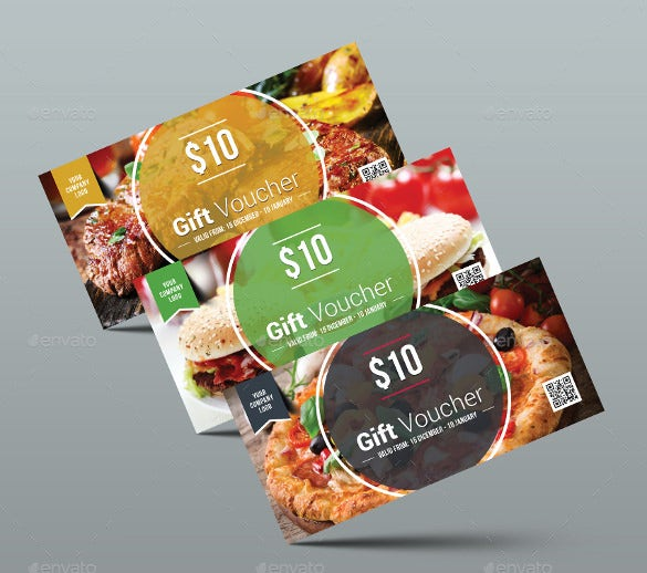 print ready food coupon template download