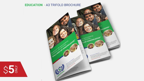 trifold template