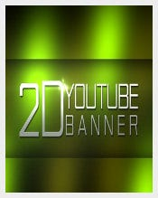 Attractive Free Youtube Banner Template