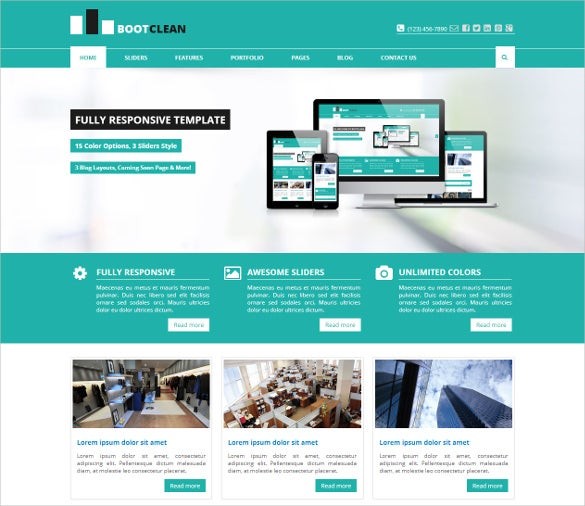bootclean – bootstrap business template