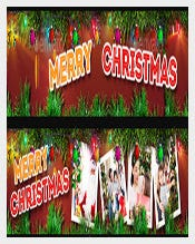 Christmas Youtube Banner Ad Template Download