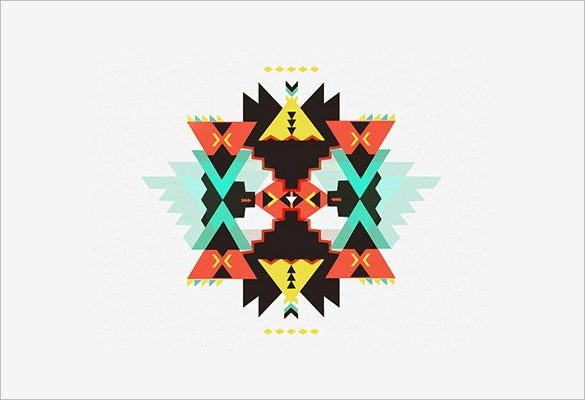 download geometric pattern illustration free