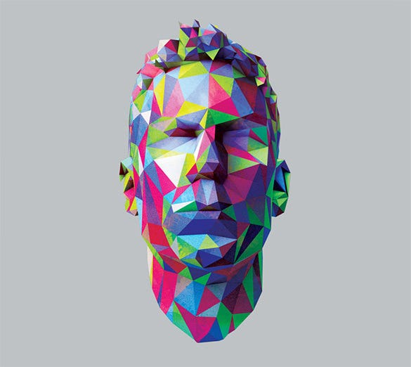 download jamie lidell geometric pattern album art