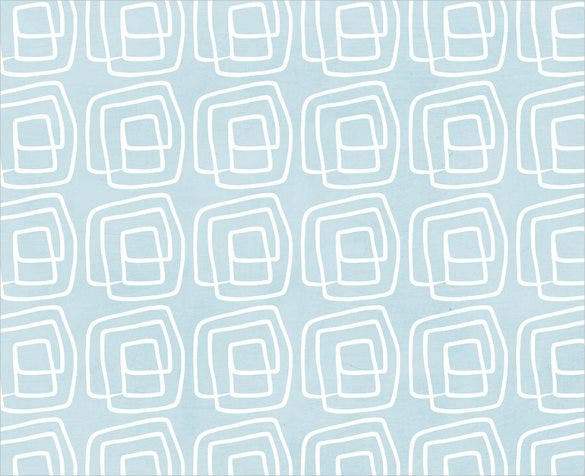 out of the box blue and white geometric pattern
