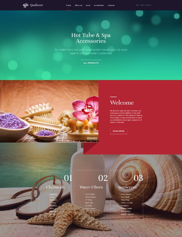qualicare html5 website template