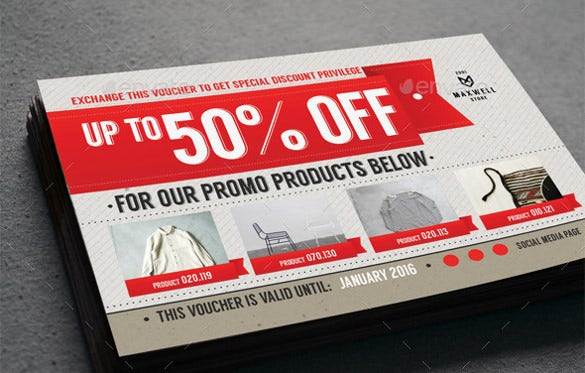 multipurpose attractive business coupon