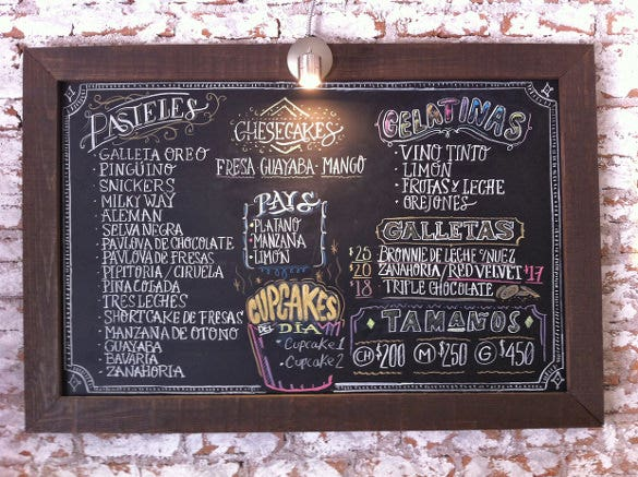 chalkboard menú download 4