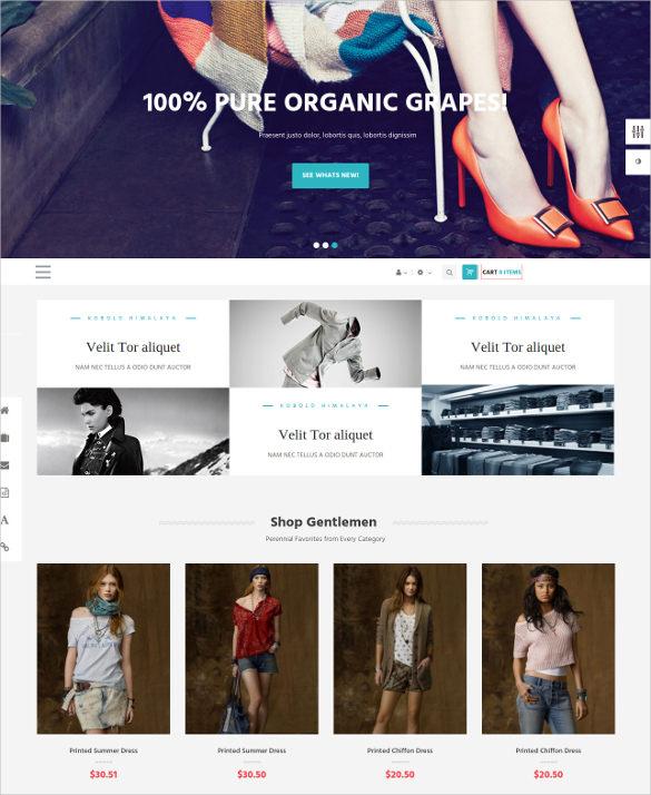 trendy clothing prestashop theme