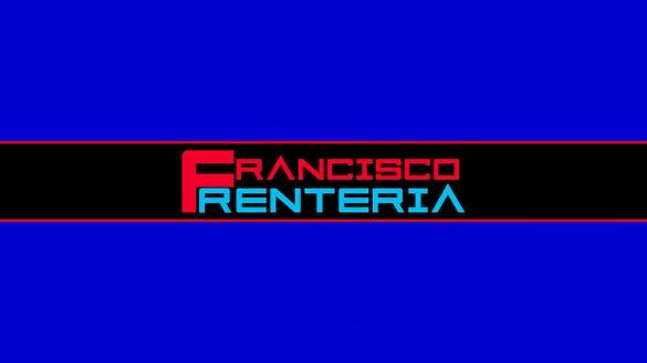 francisco sample youtube banner art template