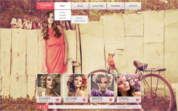 western apparel website template