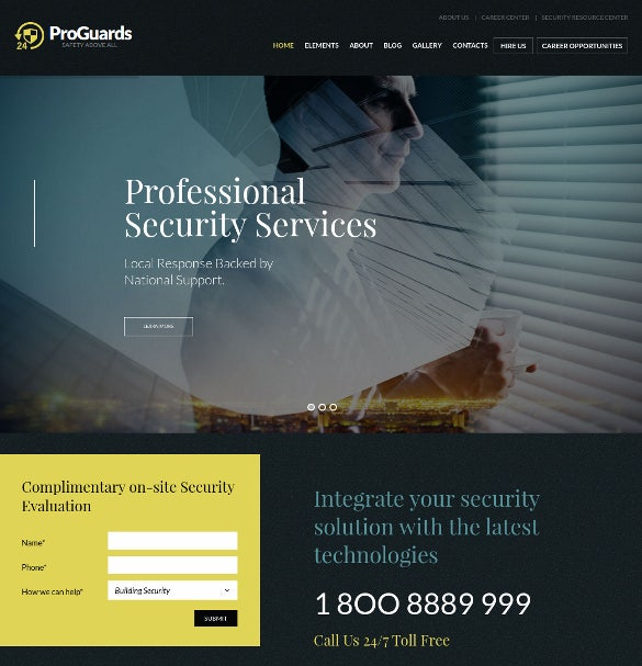 proguards safety security wordpress theme