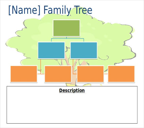 family tree ppt free template