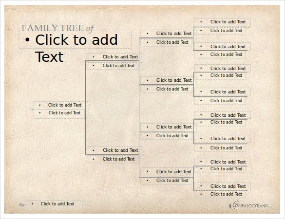 free editable family tree template1